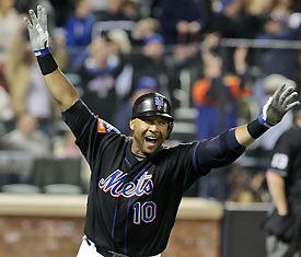 Gary Sheffield hits number 500.