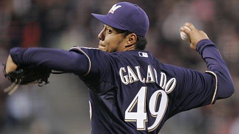 Rising star Yovani Gallardo.