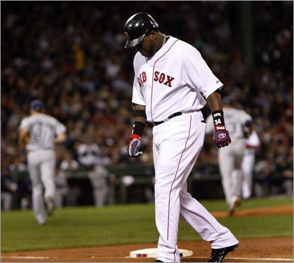 Ortiz is struggling to the tune of 0 homeruns.