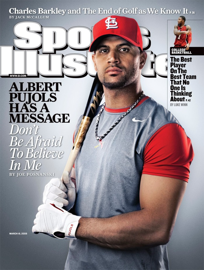 Pujols looks like baseball's savior.