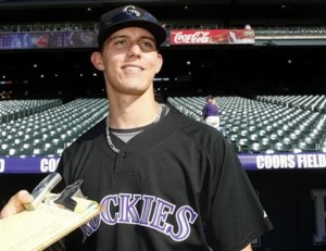 The best prospect in the Rockie's organization.