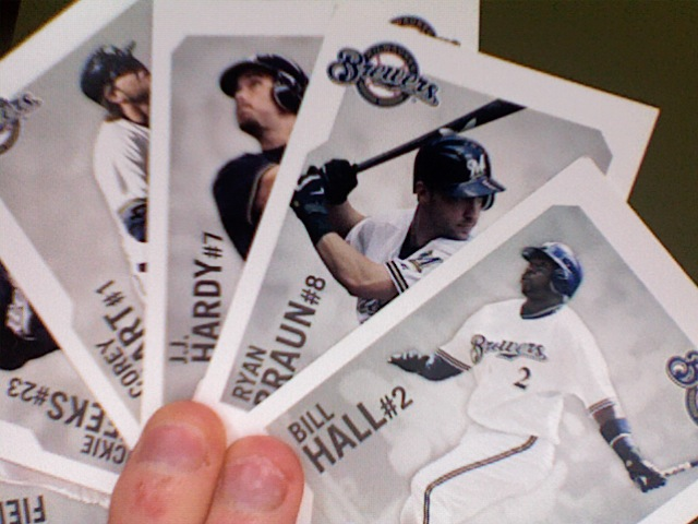 Some stars from the Brewer's team set.