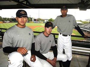 Banuelos, Brackman, and D.J. Mitchell: Future Yanks?