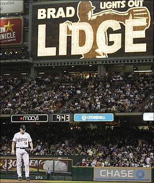 Lidge has been anything but lights out.