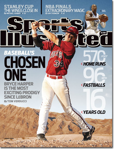 Will Bryce Harper prove the SI jinx wrong?