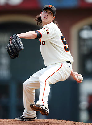 Beautiful pitching, ugly hair.
