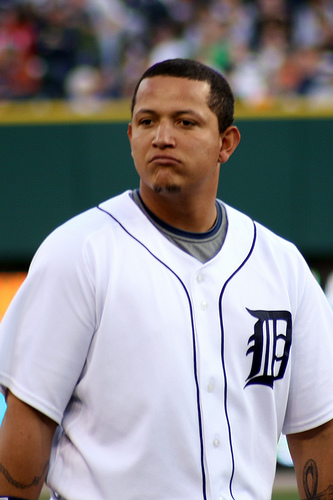 Should Miguel Cabrera be punished for his actions during the playoff run?